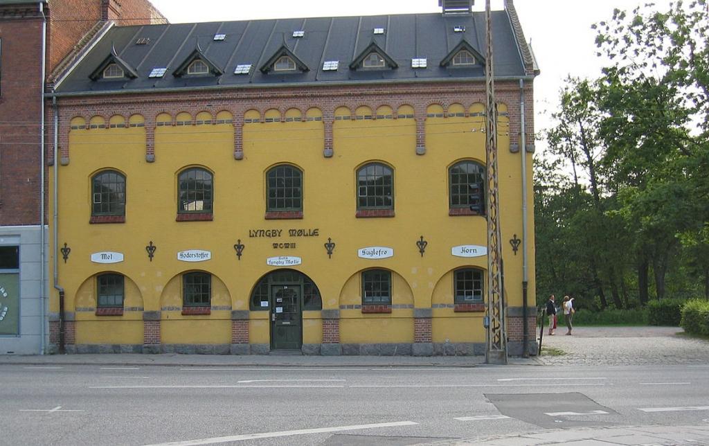 Foto Lyngby Søndre Mølle DREJET